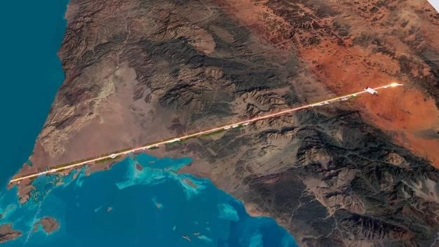 Saudi Arabia Unveils Plans for Hundred-Mile-Long Linear City, Courtesy of NEOM